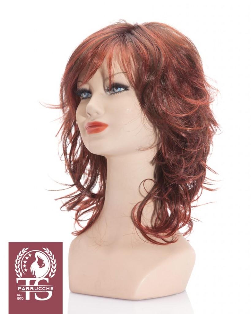 Parrucca modello CAPRI – Fibra Sintetica