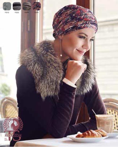 Turbanti Chemioterapia Christine – Style 1009-0381