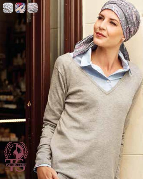Turbante Chemio Christine – Style 1107-0379