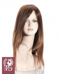 Parrucca Donna - Modello Ventotene con capello 100% naturale e fatta a mano