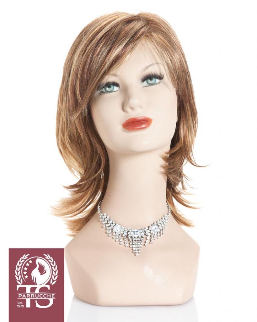 Parrucca alopecia modello PALMAROLA – Fibra Sintetica
