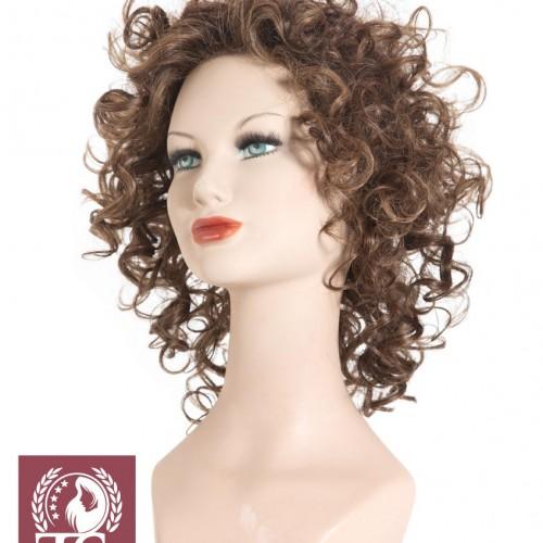 Parrucca capelli ricci modello MINORCA – Fibra Sintetica