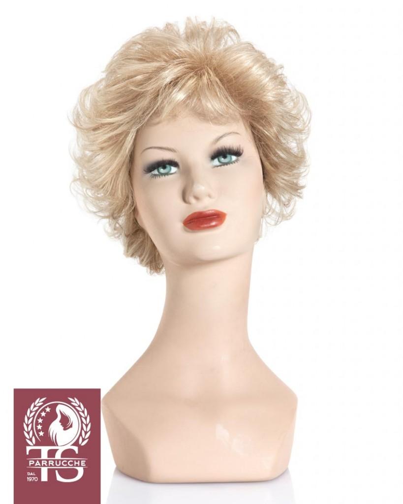 Parrucca capelli ricci modello CETARA – Fibra Sintetica