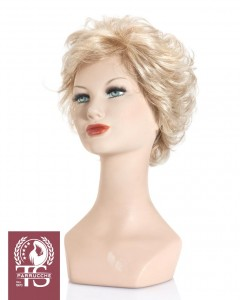 Parrucca capelli ricci modello CETARA