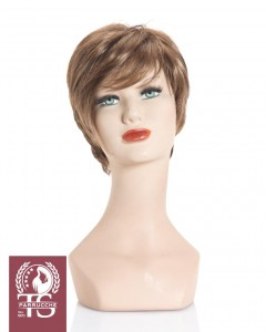 Parrucca taglio corto e liscio modello SANTORINI